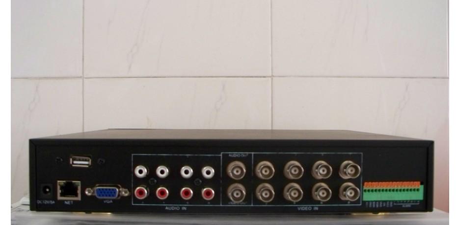 8 channel CCTV H.264 network video recorder HDD DVR
