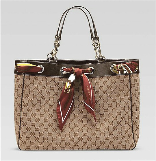 GUCCI scarf bag I Gucci shoulder bag ,