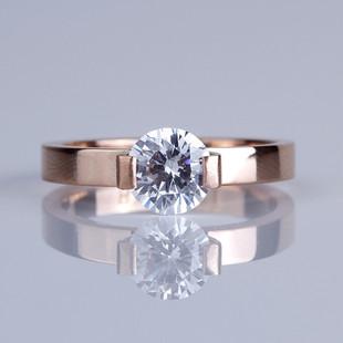 18k gold Chanel finger ring+diamond