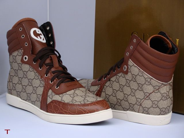 Gucci High Mens Trainers shoess