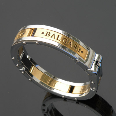 Bvlgari  gold bracelets men's titanium.steel 011