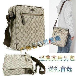 New GUCCI bag single male  201448 shoulder bag 1