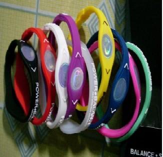 50PCS Power Balance Silicone Wristband Bracelet 9 C