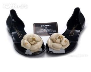 2011women's chanel flip-flop sandals flat jelly shoes
