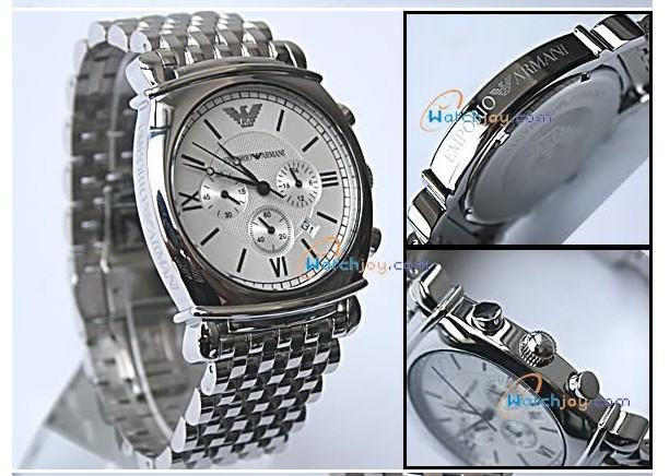 Armani AR0315 Men's steel bracelet Watch