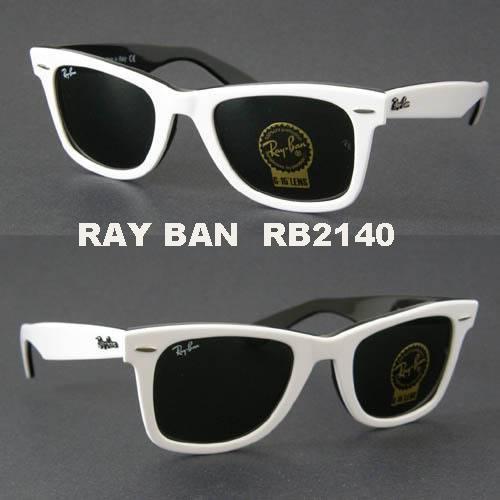 Ray Ban RB 2140 Wayfarer Brand Black Sunglasses