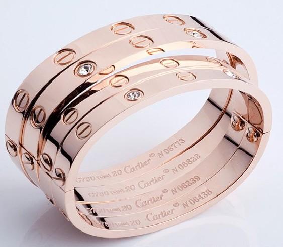 cartier Man's/Womans' Love Bracelet,m