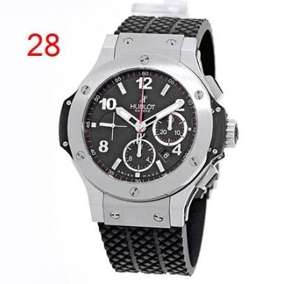 Hublot Automatic Leather Watch Men's Watches qsxcvb2010