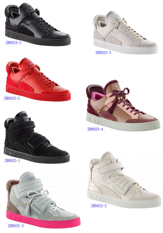 NEW Men Louis@Vuitton Kanye West Sneaker!Shoes