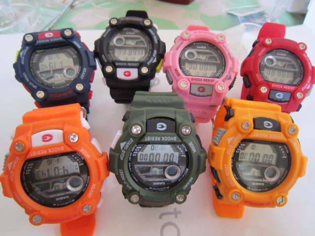 New Casio G-Shock GW7900-1D Sport watches