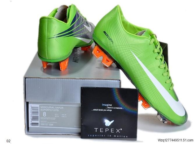 2 Mercurial Vapor Superfly II FG WC Football boots