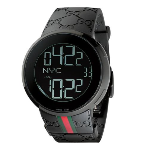 GUCCI Men's Watch YA114214 I black by EMS 01