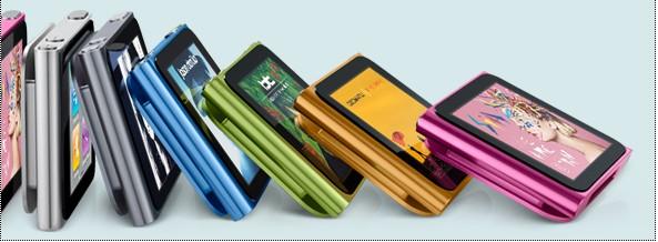 New 8GB Apple iPod Nano 5th Gen style mp4 mp3 player