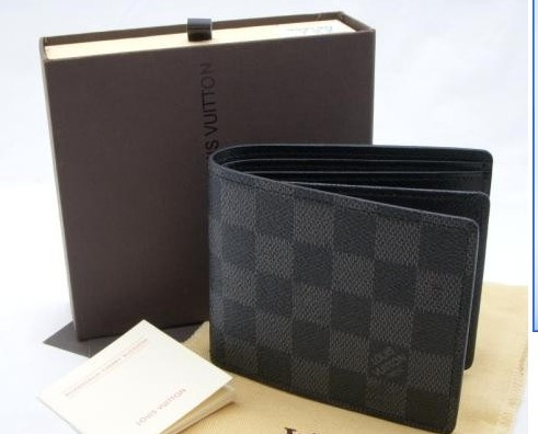 NEW LV Louis Vuitton Damier Wallet with gift bag