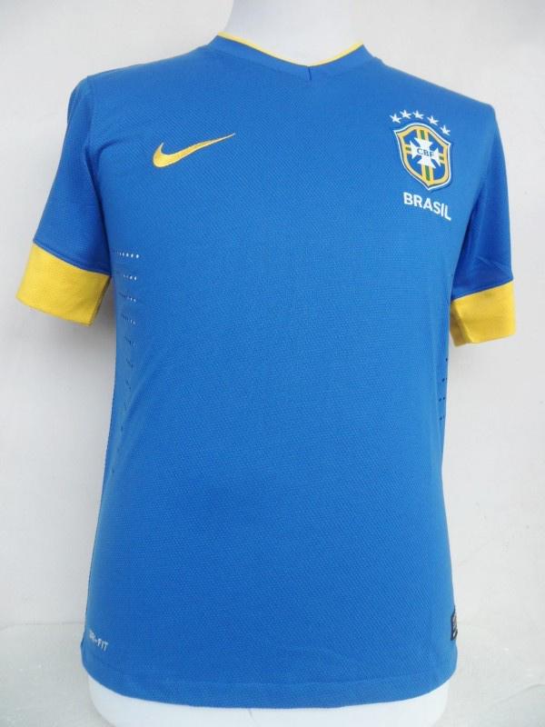 2012-2013 season top thailand quality Brazil away jersey