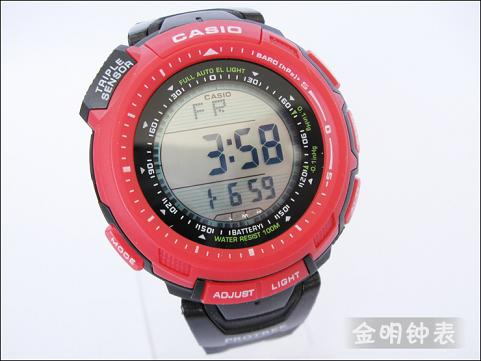 Fashion womens mens Casio watch watches wristwatches PRG-130T-7V