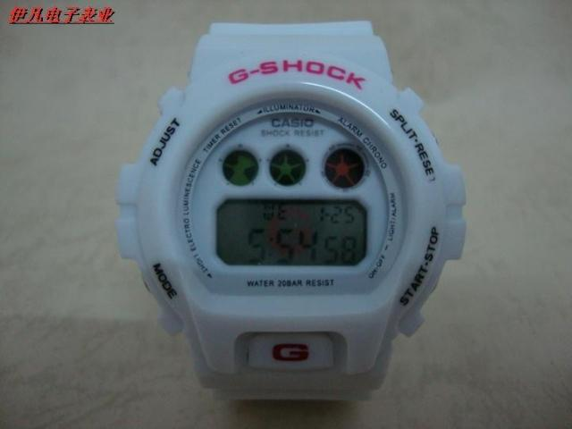 casio G-SHOCK Womens Mens watch wristwatches ice jelly watches white