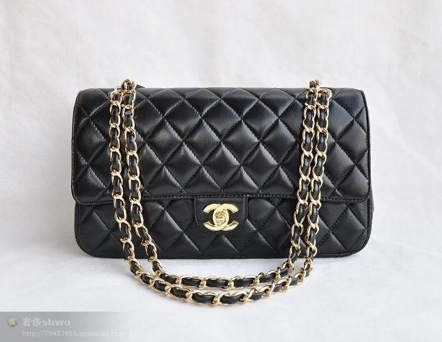 Chanel CC jumbo shoulder bag tote handbag purse with gold chain new