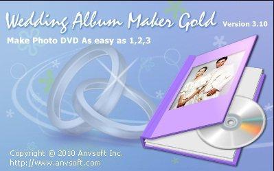 Anvsoft Wedding Album Maker Gold 3.35