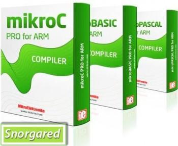 MikroElektro nika Compilers MikroC PRO / MikroBas ic PRO / MikroPascal PRO