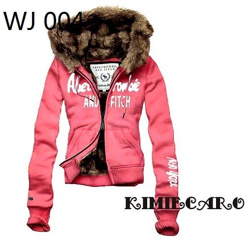 Abercrombie Fitch women's fur jacket hoodies,8 colorsn