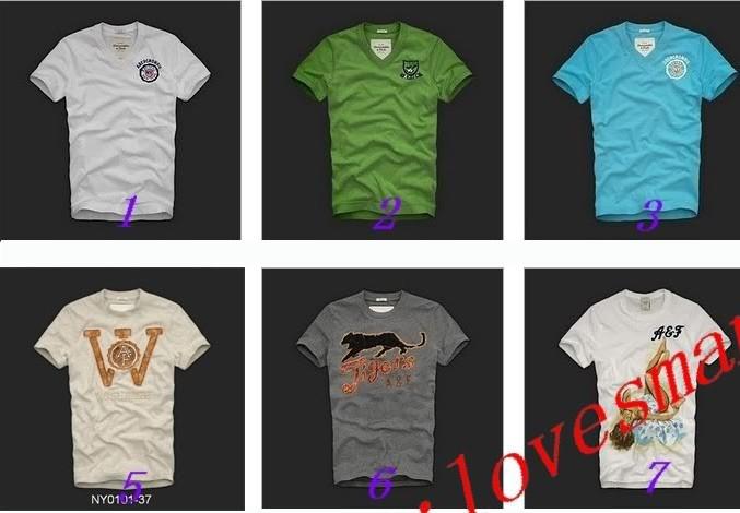 2010 Abercrombie Fitch af men T-Shirts