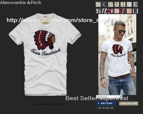 AF abercrombie&fitc Men's Short T-Shirt More Models`