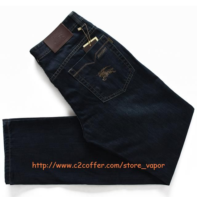 Burberry men's straight jeans size:28~42 A