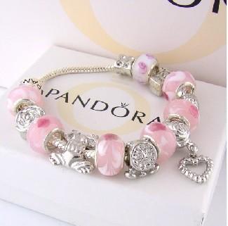 Hot! 925 silver fashion pandora bracelet HQ-1