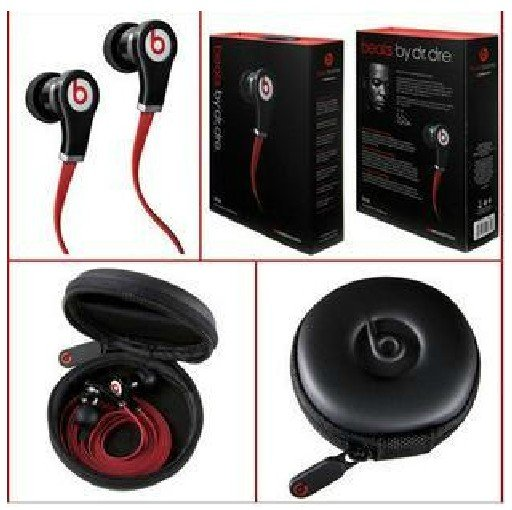 Monster beats by dr.dre TOURS INEAR Headphones A++02