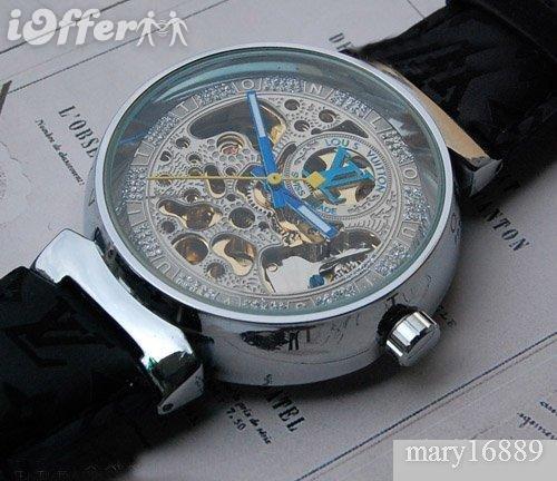 Louiss Vuittons Mens Womens brown Belt Watch A.A+002