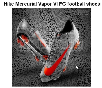Mercurial  Vapor VII FG Football  Shoes  boots+