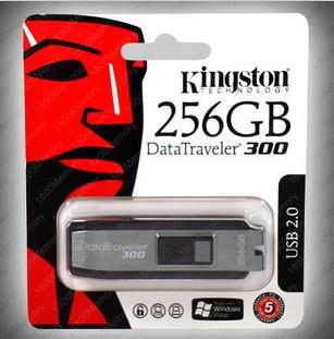 Kingston Data Traveler DT 300 256GB Memory  Drive