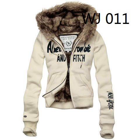 Abercrombie Fitch women fur jacket hoodies,8 colors