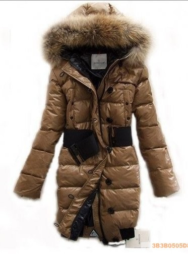 2011 New Moncler Women LONG down jacket feather dresv