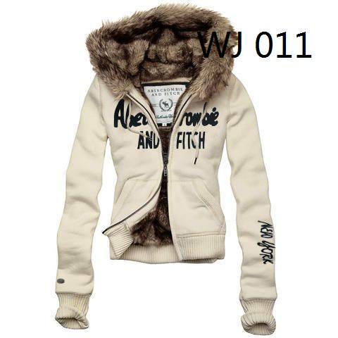 Abercrombie Fitch women fur jacket hoodies,8 colors c