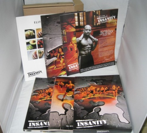 [INSANITY 60DAYS WORKOUTS 13 DVD+COMPLETE GUIDES ,
