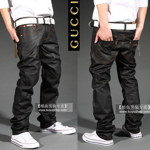 GUCCI Jeans Men Simple  Cool Jeans  Gucci