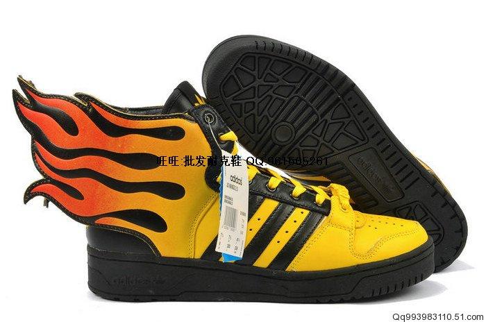New ADIDAS Jeremy Scott MIX Adidas WING S Sneakers