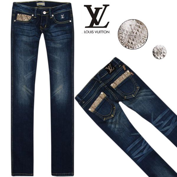 Louis Vuitton LV Women Classic Straight jeans s1