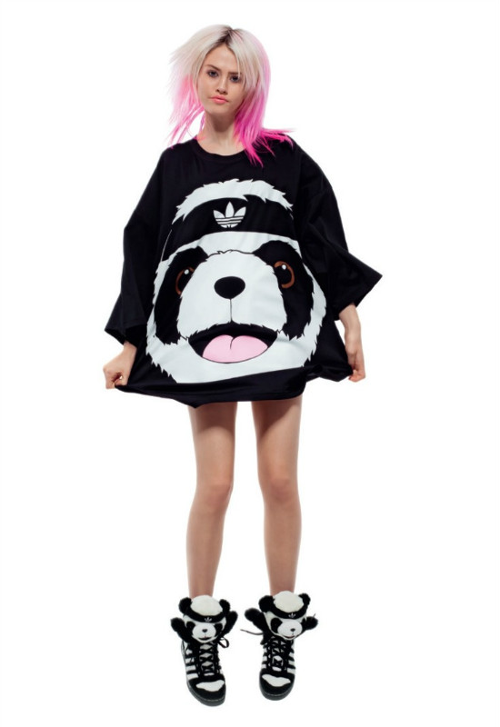 mos Kung Fu Panda Long T-shirt lovers Jeremy Scott 34