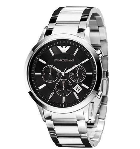 original Empor Armani2 Mens' ch ronograph Watch AR2434