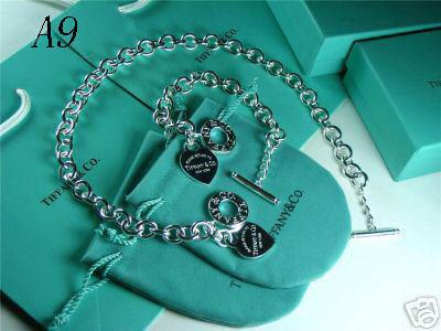 Tiffany&Co 925 Jewelry Silver Necklace 2