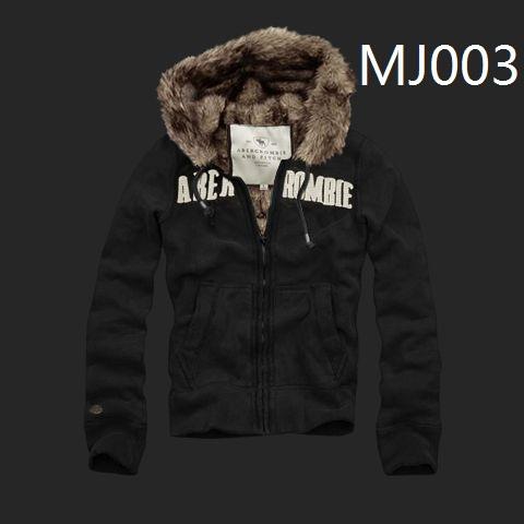 Abercrombie Fitch men's fur jacket hoodies, 6 color