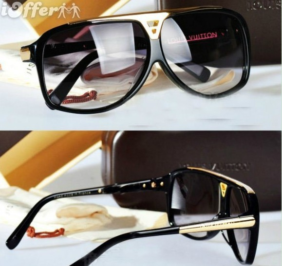 Hot Louis Vuitton LV Millionaire Evidence Sunglasses