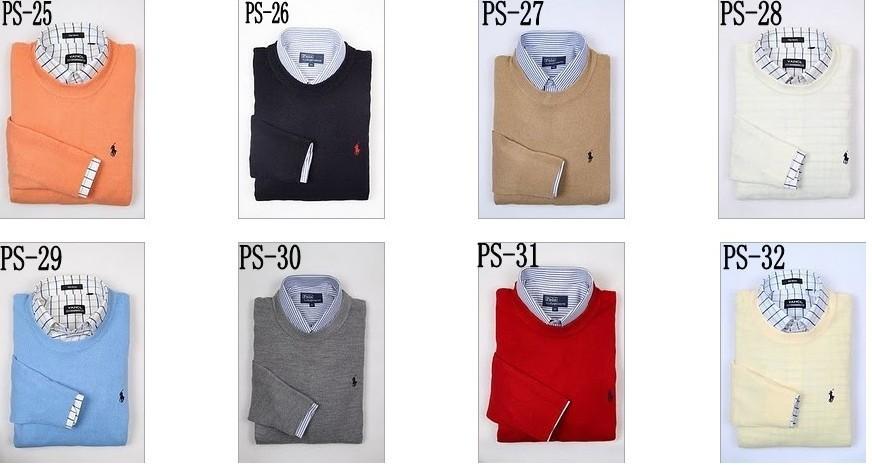 NEW POLO Shirt Ralph Lauren Mens Cashmere Sweater