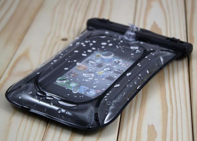 iPhone 4 4S cell phone waterproof case 3GS Rafting bags