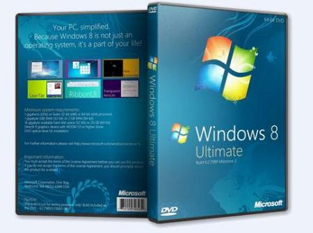 Windows 8 Ultimate M3 build 7989 DGRAR (x86)