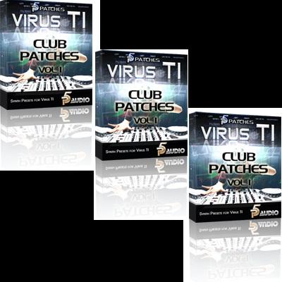 Virus TI Electronic Club Patches Vol 1
