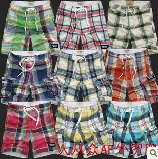 A&F Beach shorts, men casual pants z
